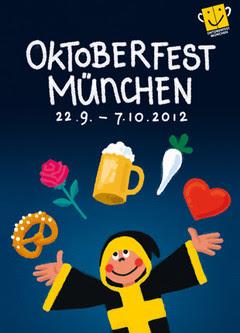 Official 2012 Oktoberfest Poster