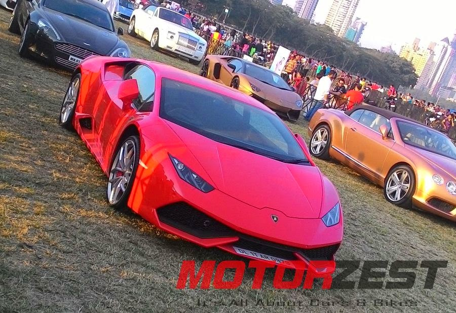 Lamborghini Huracan at 2015 Parx Super Car Show in Mumbai