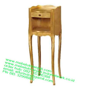 Mebel jepara mebel jati jepara mebel jati ukiran jepara nakas jati ukir klasik cat duco classic furniture jati jepara code NKSJ 120 NAKAS JATI CLASSIC