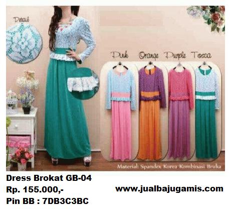 Gambar Dress Brokat