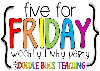 Five for Friday is a fun way for teacher bloggers to share five things they really loved this week. This post shares my Five for Friday...but on a Saturday instead! Check out which books I'm loving and what my favorite TV show of the summer was. Click through to read the post and find out what I'm loving!