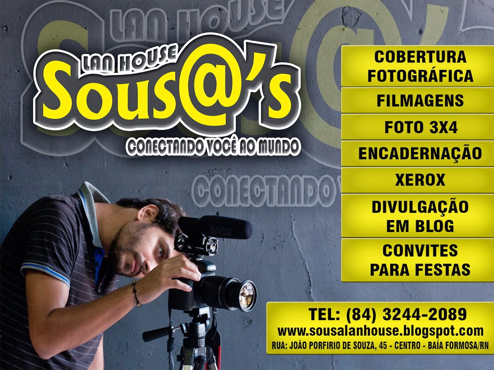 SERVIÇOS SOUS@'s LAN HOUSE