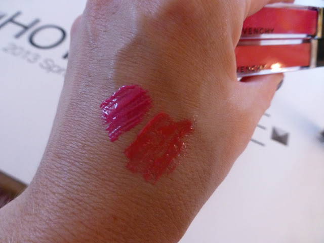 Givenchy Gloss Interdit Limited Edition Private Fuchsia No 36  + Private Rose no 35 Spring Summer 2013