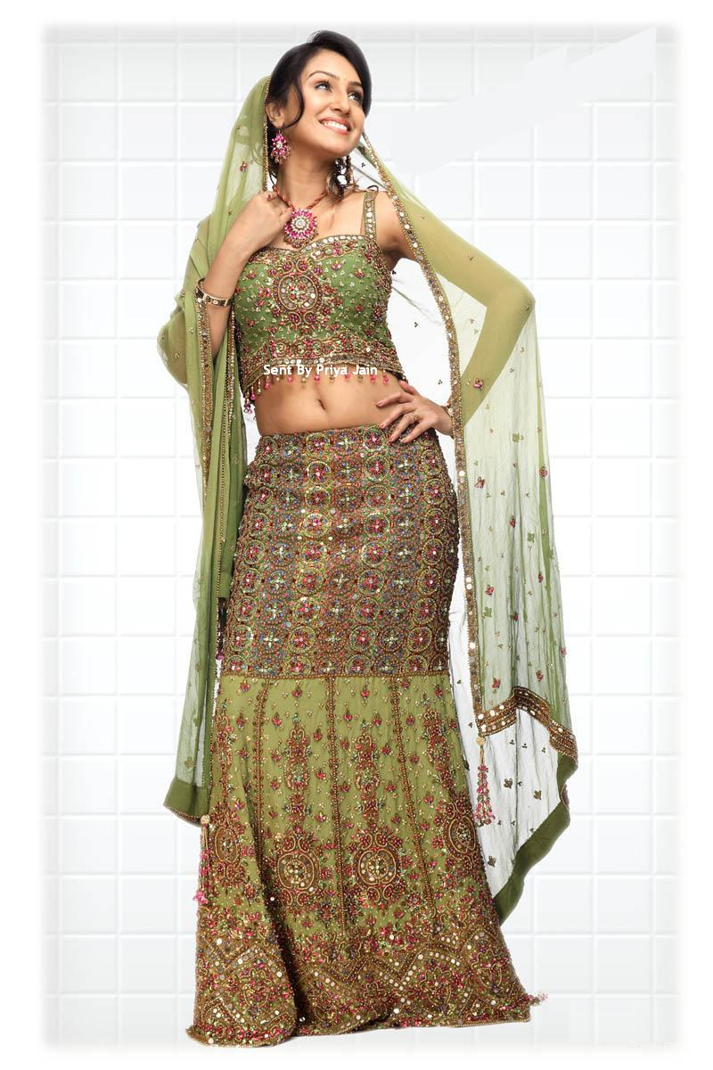 fashion indian wedding frocks designs