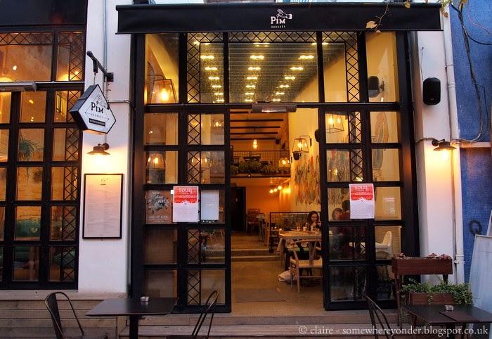 Pim Karaköy Kitchen & Patisserie, Istanbul Turkey