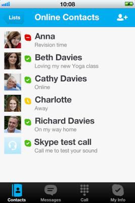 Versione 4.0 di Skype per iPad, iPhone e iPod