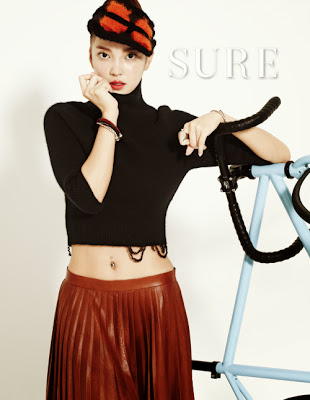 NS Yoon G - Sure Magazine October Issue 2013