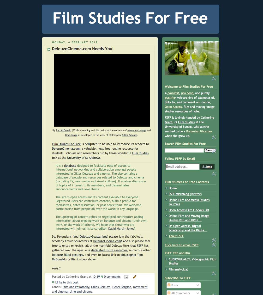 film studies Beretta e smith-shomade, acting associate professor of fim and media studies and director of graduate studies, conducts research that explores representational, industrial, production, and.