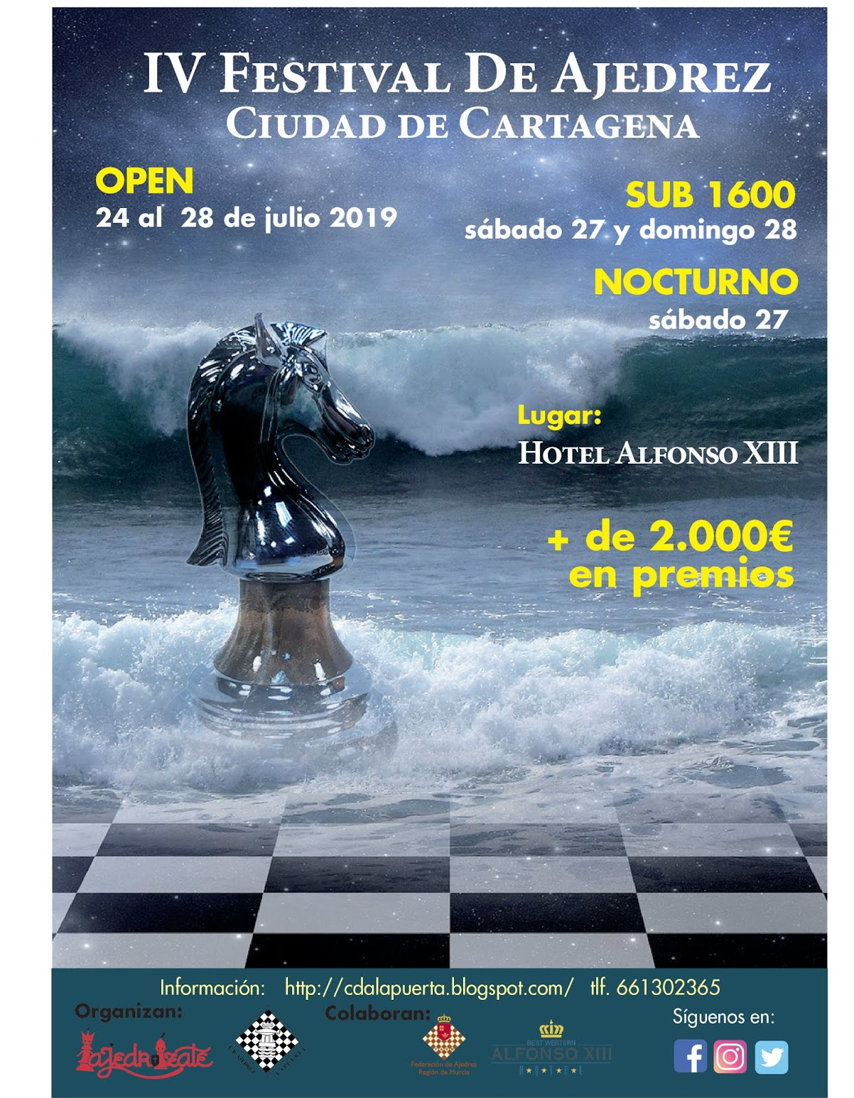 IV Festival de Ajedrez Ciudad de Cartagena