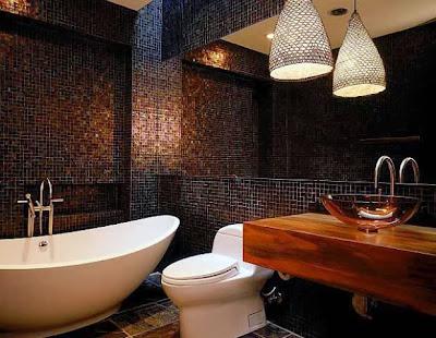 various bathroom tile for luxury interior of bathroom designs