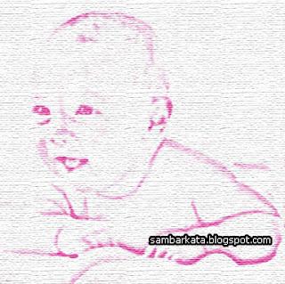 ... nama bayi menjadi beberapa kata sehingga akan lebih cantik dan indah