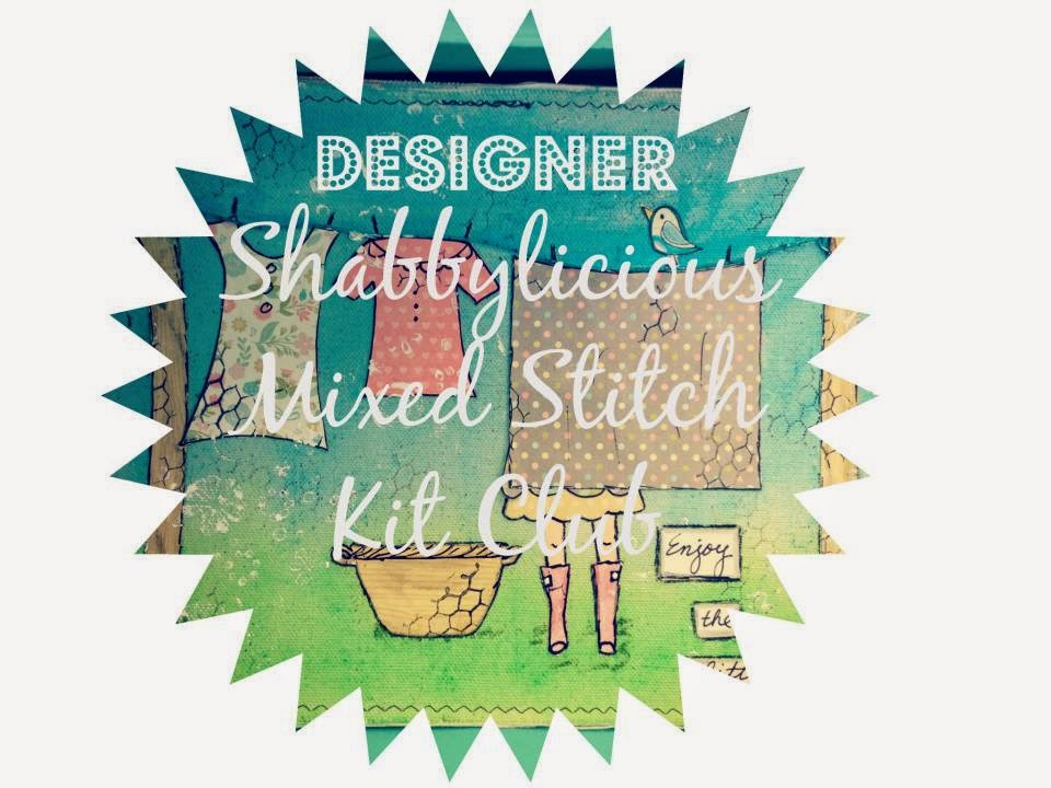 Designer Shabbylicious Mixed Stitch Club