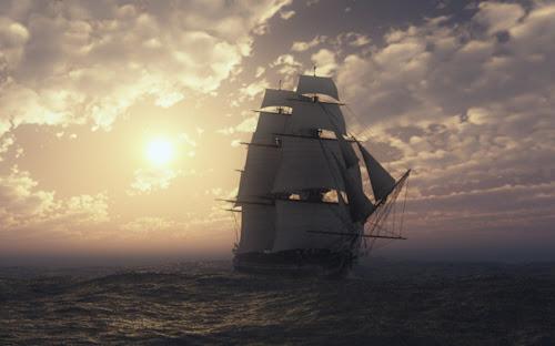 Kumpulan Gambar Kapal di Lautan Terbaik