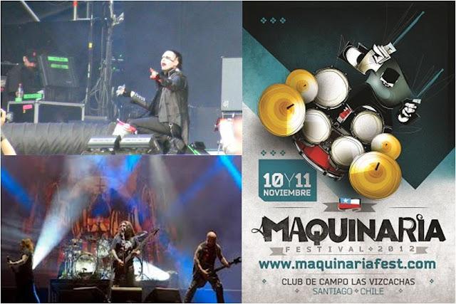 Maquinaria Festival Santiago Chile 2012