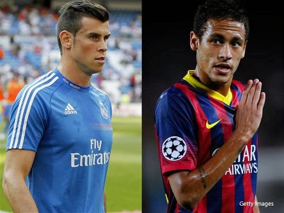 Neymar and Gareth Bale Interview About El Clasico