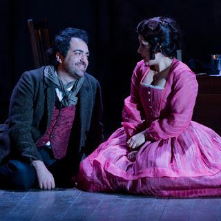 Gianluca Terranova, Susana Gaspar, - La Boheme - Grange Park Opera - photo credit Robert Workman