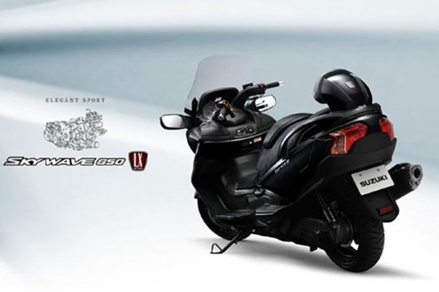 New Suzuki SkyWave
