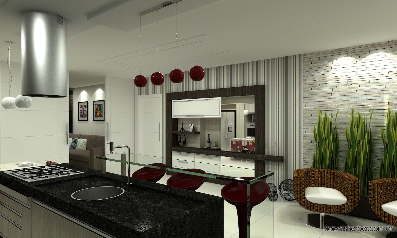 Projeto: Cozinha Gourmet :: #5B4934 1600 960