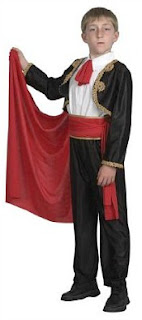 Spanish Matador Boys Costume