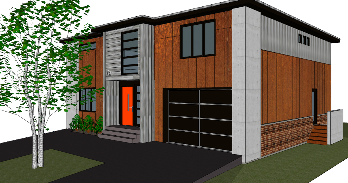 67sunnymede Design Ii With Sloped Roof