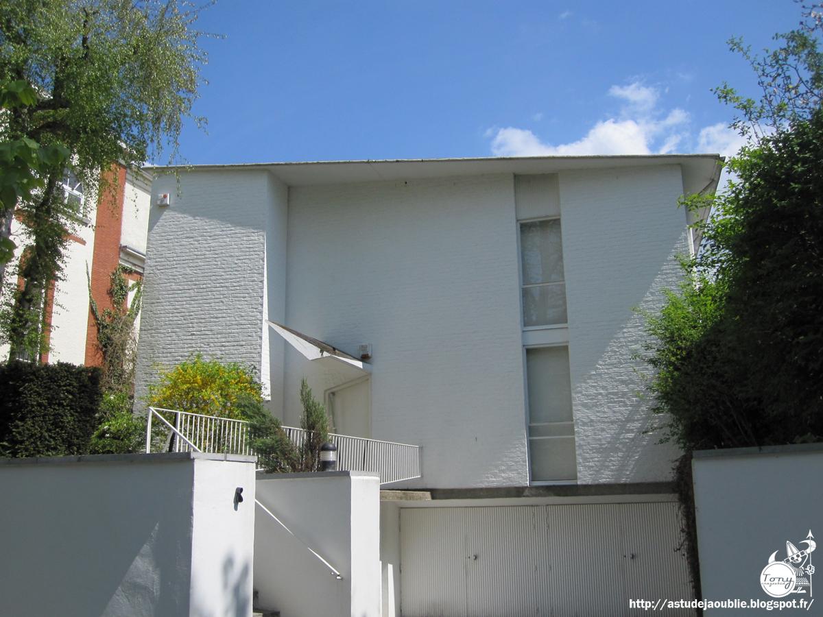 Bruxelles uccle maison everaert jacques dupuis for Maison moderne uccle