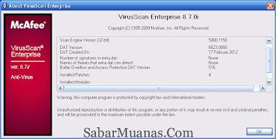Cara Update McAfee Offline Terbaru,2012