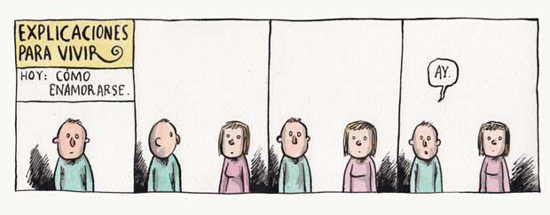 Explicaciones para vivir - Hoy: Como enamorarse (Liniers)