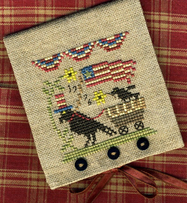 UNCLE SAM CROW NEEDLE CASE
