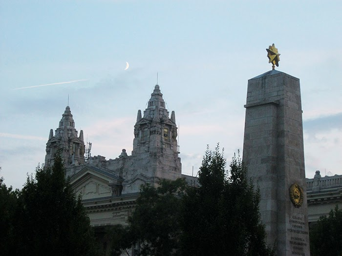 Budapest Jewish sky moon