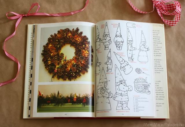 Gnome Christmas Crafts_wreath via Meet Me in Philadelphia