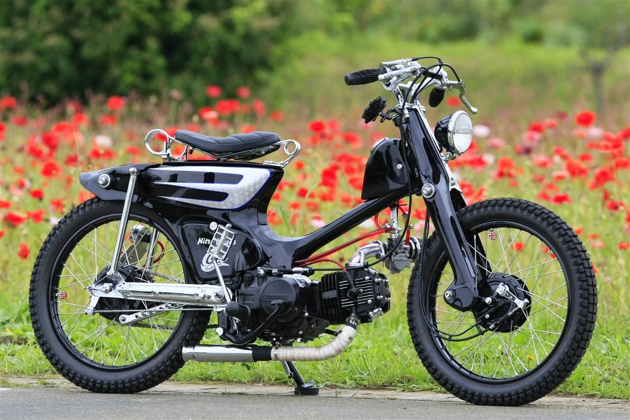 Kumpulan Gambar Motor Modifikasi Motor Jadul Honda 70