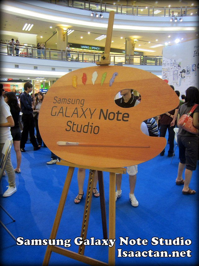Samsung Galaxy Note Studio Roadshow