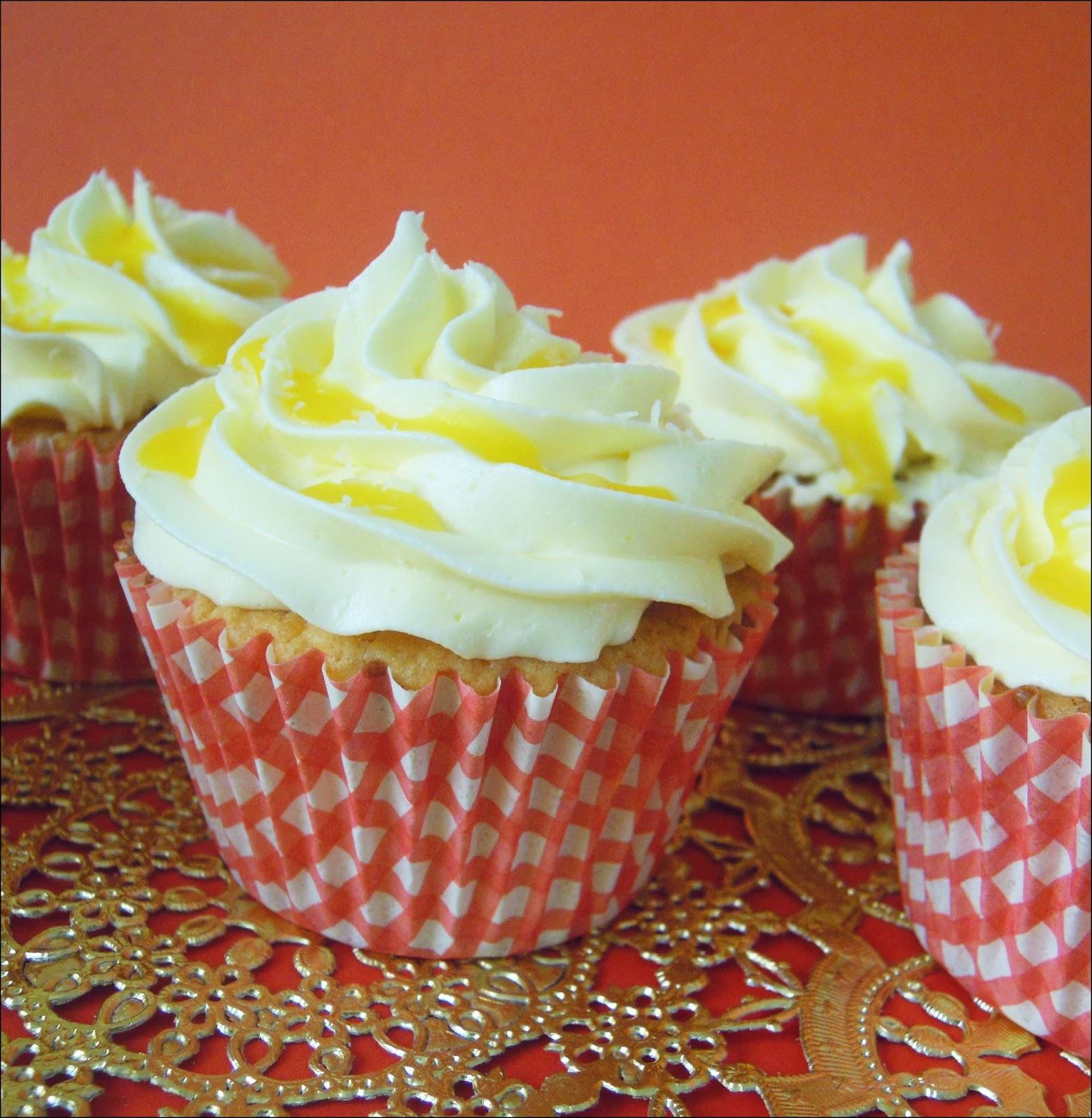 Cupcakes de Naranja y Coco