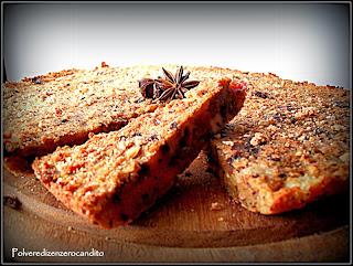 torta di pane rustica alle pere