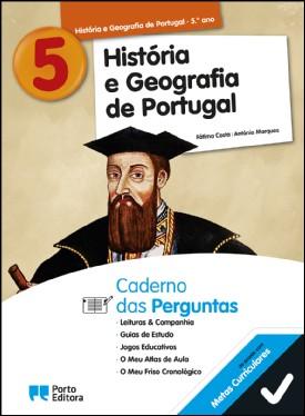 Caderno das Perguntas - História e Geografia de Portugal - 5.º Ano