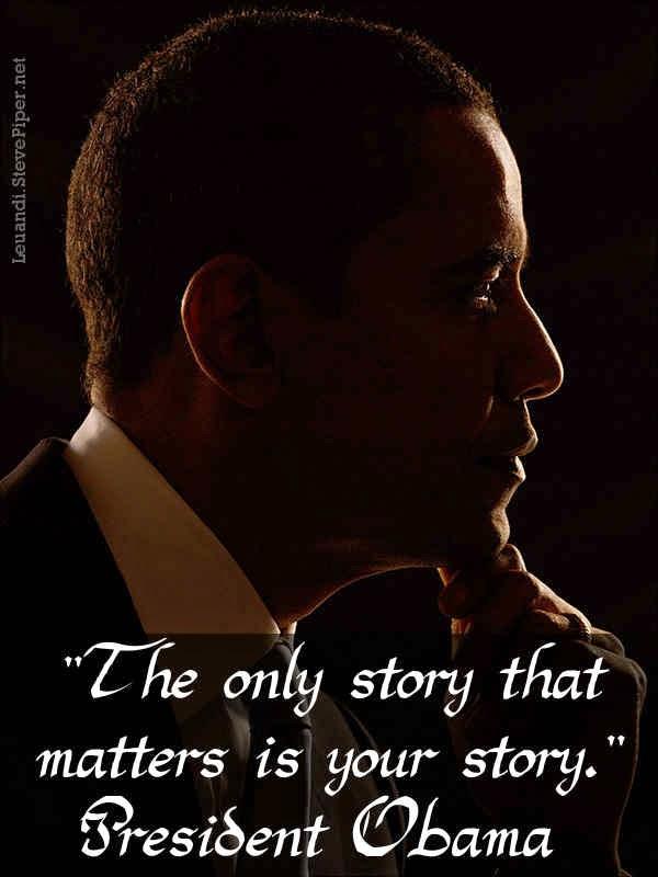 Barack Obama, inspiration, life, story