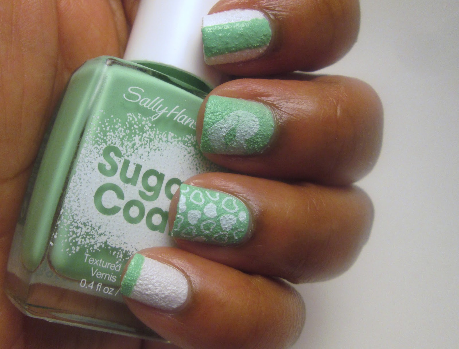 DAB NAILZ: Sally Hansen Texture Polish-Sugar Coat & Fuzzy Coat ...