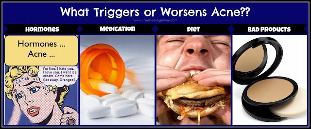 Acne Trigger factors