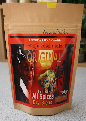 A packets of Chef's Essentials Spices from www.anyonita-nibbles.com