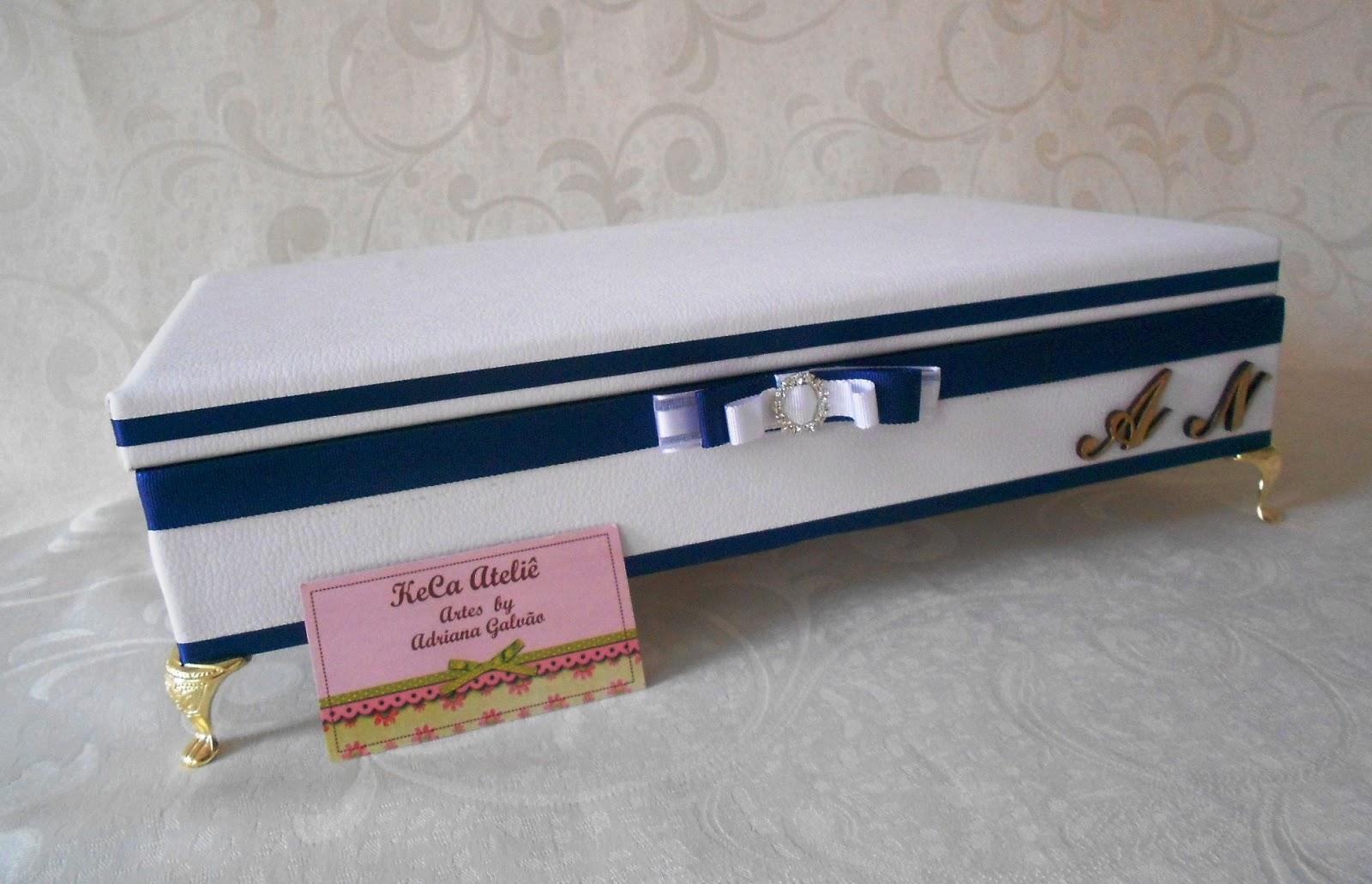 Kit toalete casamento branco : Keca ateli? kit toalete casamento azul e branco