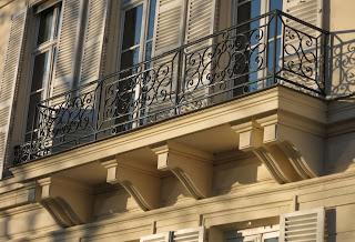 balcon du 22 quai d'Orléans à Paris