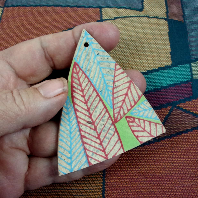 Tri Leaf Pendant