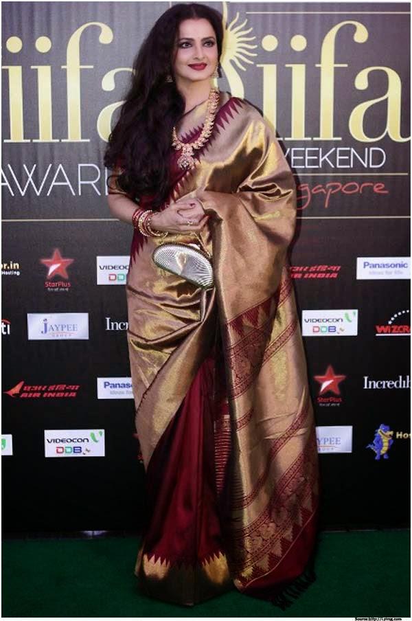 Silk Sarees in Delhi Temple Design Silk Saree