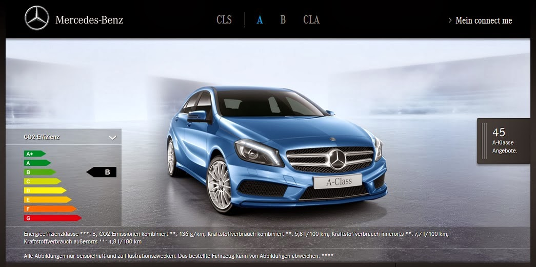 Mercedes vertreibt a b klasse cla und cls sb online for Mercedes benz com connect