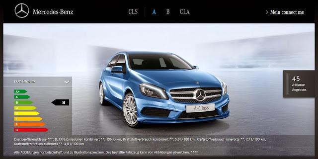 Mercedes vertreibt a b klasse cla und cls sb online for Www mercedes benz com connect