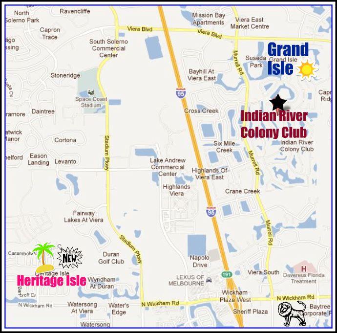 Viera Florida Map.Heritage Isle Viera Florida Map Www Imagessure Com