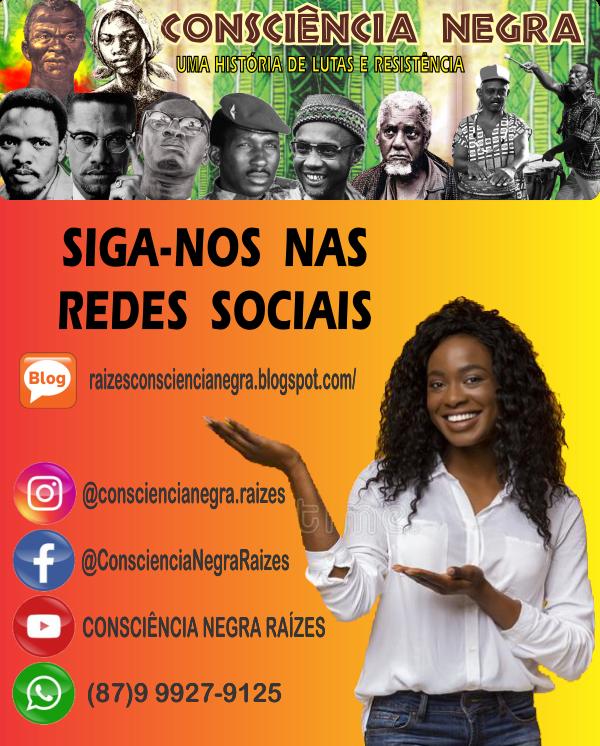 SIGA CONSCIÊNCIA NEGRA NAS REDES SOCIAIS
