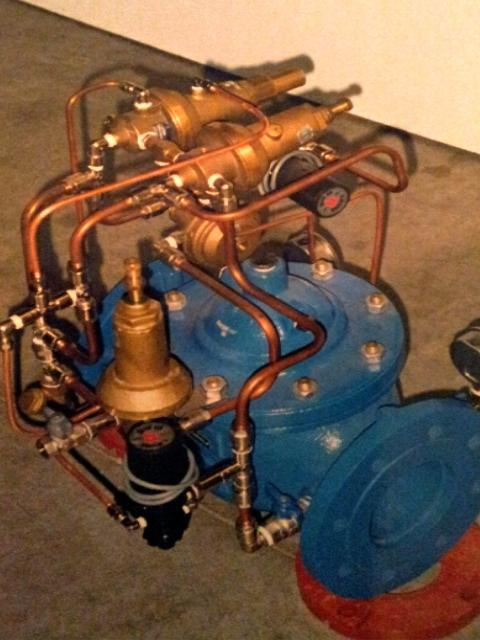 válvulas hidráulicas para abastecimiento