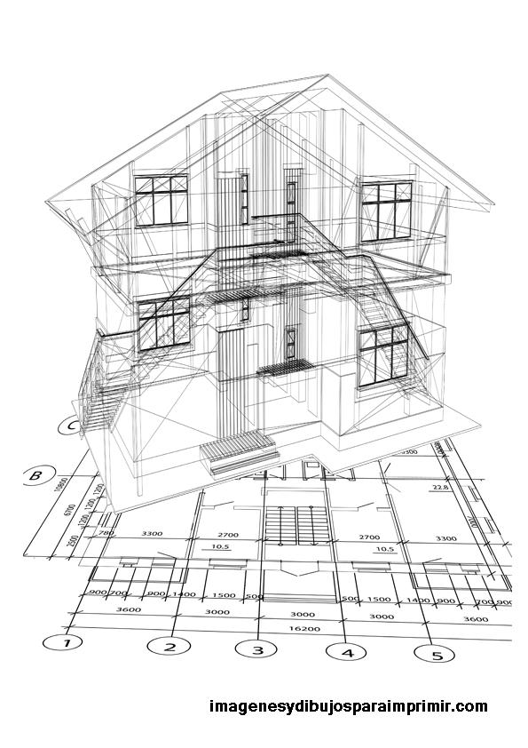 Dibujos de arquitectura para imprimir imagenes y dibujos para imprimir - Mesa de dibujo para arquitectura ...
