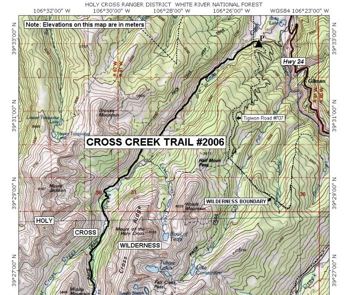 Dennis Dixon is heading West!: Day Six: Cross Creek Trail #2006 in ...